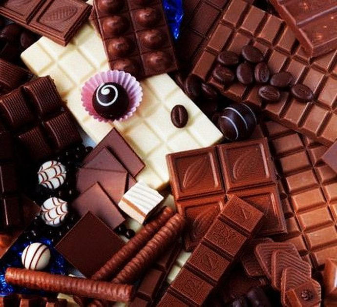 Фото на шоколаде своими руками